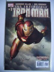 Iron Man #1 Dynamic Forces Signed Adi Granov COA Ltd 199 DF